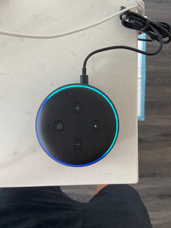 Amazon Echo Dot (3rd Gen) with Alexa - Charcoal 75af1aaf-3d85-45b6-a108-16abab0f9971