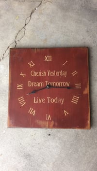 Wall clock/decor North Platte, 69101