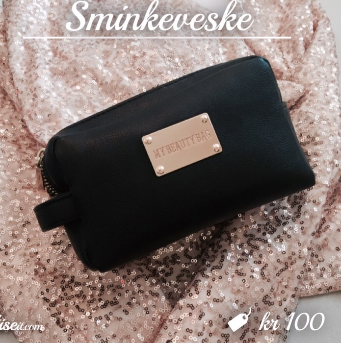 svart My Beauty Bag veske