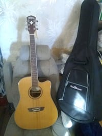Washburn WD12SCE Acoustic/Electric Guitar
