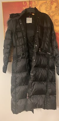 black zip-up bubble jacket Toronto, M9W 6L4
