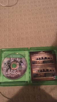 Xbox one for honor game disc  Nanaimo, V9T 5B3