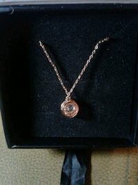 Cate and chloe pendant necklace 18k rose gold new  Burtonsville, 20866