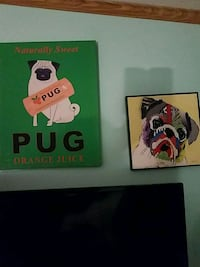 PUG pictues  $10. each Bear, 19701