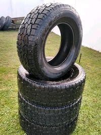 265 70 R17 4 used tires 75% trade$375 Mulberry, 33860