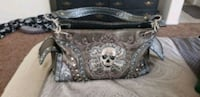 black and gray leather handbag North Las Vegas, 89031
