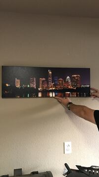 city at night poster College Station, 77845