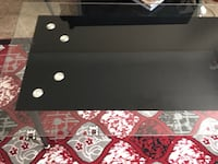 Black and glass top 3 pc living room set Detroit, 48203