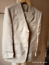 Men's Louis Phillipe suit - cream colour BANGALORE