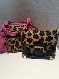 Two never used designer purses
