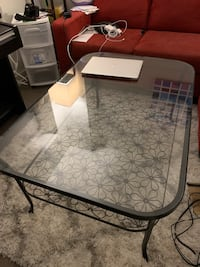 Big glass coffee table