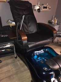 Pedicure Spa Chair  Shiatsu Massage Cobalt Blue Tub 2 available New Orleans, 70130