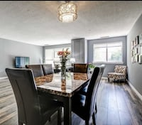 Dining table and 6 chairs Toronto, M2H 3J9