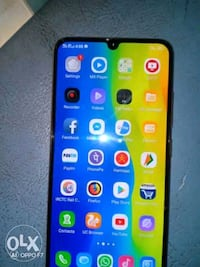 vivo v11 pro  with charger  earphone data cable
