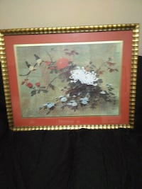 brown wooden framed painting of flowers Bronx, 10467