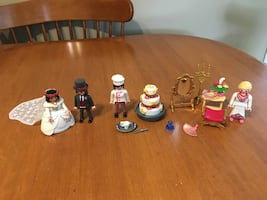 Playmobil wedding set