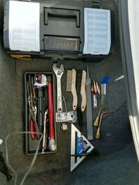 Oxy Accetylene cutting/welding kit plus tool box Hastings, 68901