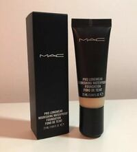 New MAC pro longwear nourishing waterproof foundation nc40