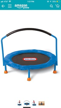 blue and black Little Tikes trampoline New York, 11374