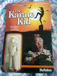 The karate kid mr.miyagi action figure Toronto, M3N 2B9