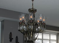 Cast iron chandelier Toronto, M5V