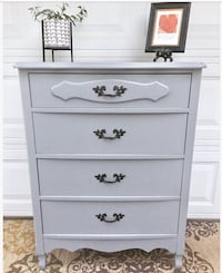 Solid wooden gray dresser! Oklahoma City, 73120