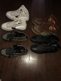 three pairs of assorted shoes Galveston, 77550