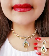 Beautiful Ad Neckless With Earring  Jaipur, 302012