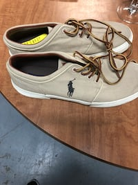 pair of gray U.S. Polo low-top sneakers Champaign, 61821