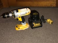 18 VOLT DE WALT DRILL XRP With 18V battery and Charger