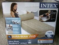 beige Intex air mattress box Orlando, 32839