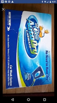 Mr.Clean autodry car wash system. New in box. Fairfax