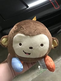 brown and beige monkey plush toy Houston, 77081