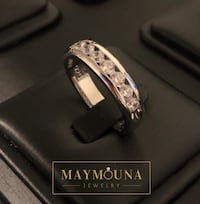 Men Wedding CZ Band, Size 9 and 11 Kitchener, N2E 2A3