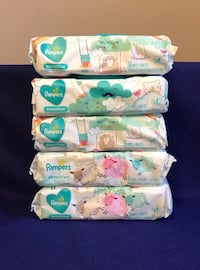 Pampers Sensitive Wipes Set -  (all 5 items via picture) - 56 ct. - (Please Review The Full Ad) Philadelphia, 19151