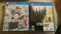 Madden 2017 and Dying Light PS4 Games