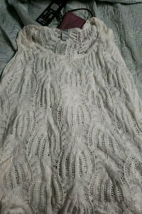 Crochet tank bought a large more like a xl or 2 x Athol, 01331