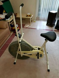 Gray and black stationary exercise bike Toronto, M1S 1A4