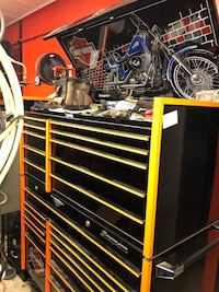 """Limited edition Harley Davidson Tool Chest by """"Snap-on"""" Harvest, 35749"""