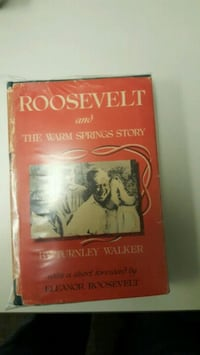 Roosevelt and the warm spring book Murfreesboro, 37128