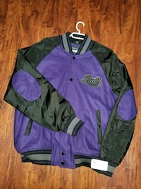 purple Varsity zip-up jacket Winnipeg, R3E 0S2