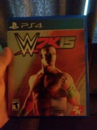 Sony PS4 WWE 2K17 game case