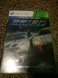 Xbox 360 Need for Speed Rivals game case 222 mi