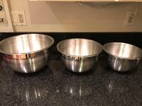 two stainless steel cooking pots McLean
