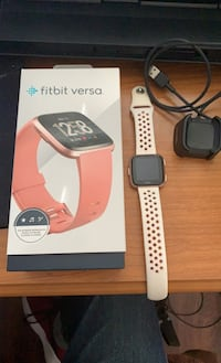 Fitbit versa rose gold edition