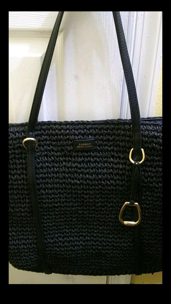 Ralph Lauren Black Tote Bag 0
