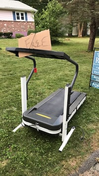 black and gray elliptical trainer North Stonington, 06359
