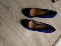 Purple and black heels size 8 Airdrie, T0M 0E0