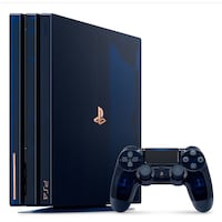 Black sony ps4 console with controller Bedford, 76022