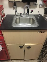 Stainless steel and black kitchen appliance Surrey